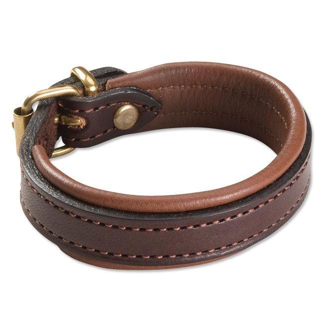 Mens mxs Leather Bracelet - English Bridle Leather Bracelet -- Orvis on Orvis.com! $49.00