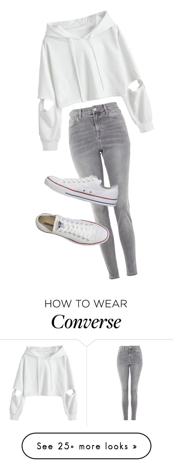 """Cute Autumn Look"" by hayleydalton on Polyvore featuring Topshop, Converse, cute and autumn"