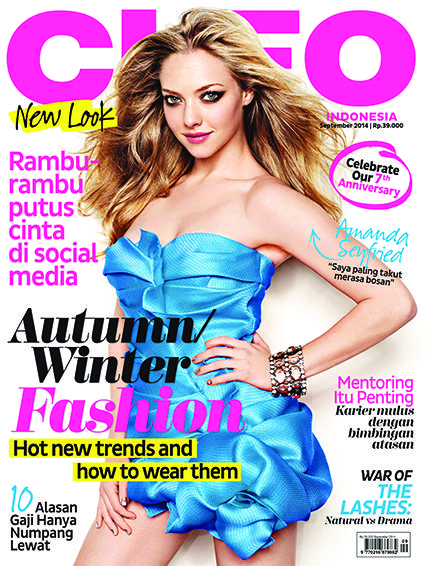 CLEO Indonesia September Issue. It's our revamp edition with #AmandaSeyfried on the cover #CLEONewLook #CLEOMyLifeMyWay