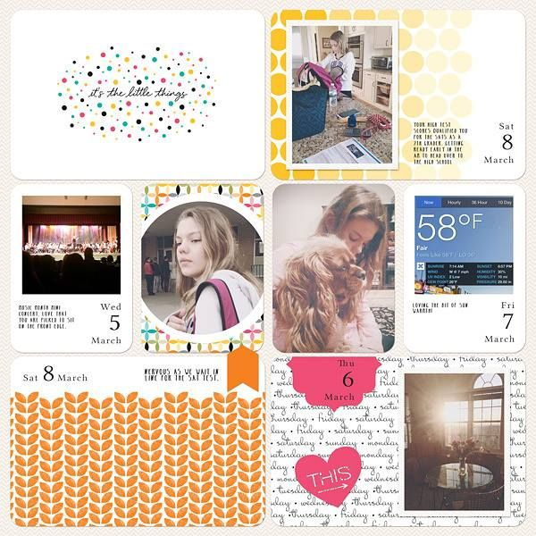 Layout by Jenn McCabe #PLxSU: Scrapbook Projects Life, Scrapbook Inspiration, Su Projects, Life Plxsu, Life Xx, Life Idé, Inspiration Stampin Up, Life Inspirati, Digital Projects Life