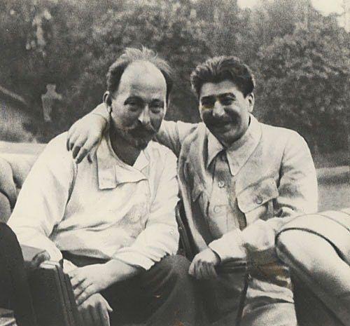 GREAT STALIN - SOVIET UNION. The son of a Polish nobleman reductions Felix Dzerzhinsky and the Georgian cobbler's son Joseph Dzhugashvili (Stalin)