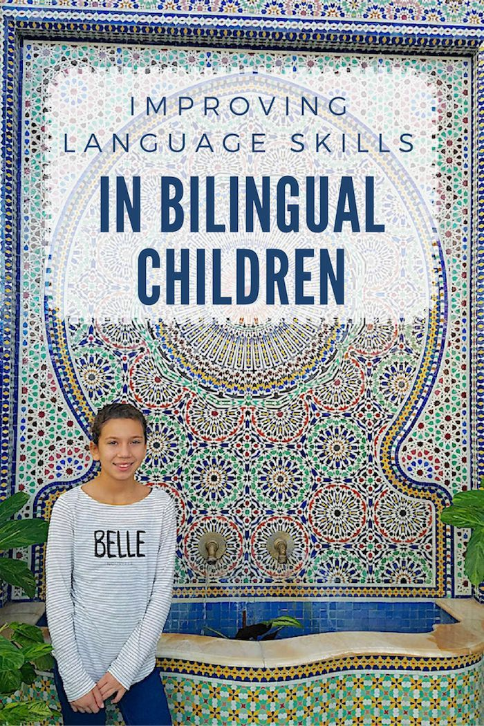 How to improve language skills in bilingual children- concrete activities parents and teachers can use to help bilingual kids develop their speaking, listening, reading, and writing skills.