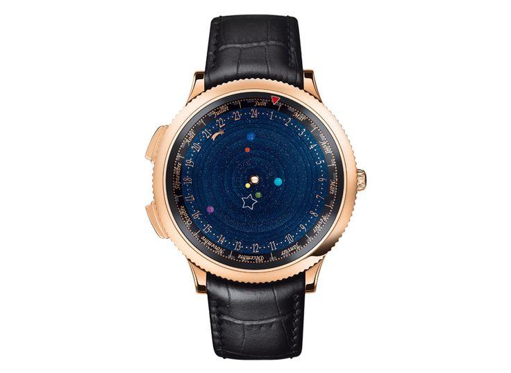 The Poétique Midnight Planétarium watch by Van Cleef & Arpels