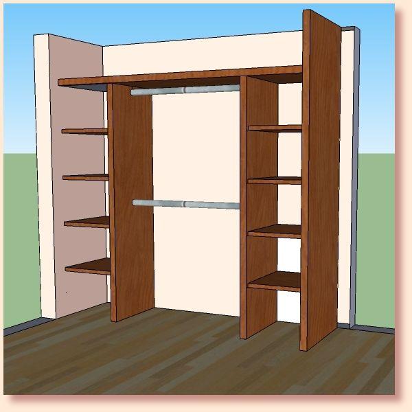 M s de 25 ideas incre bles sobre closet de madera en for Decoracion closet en madera