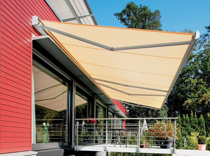The Weinor Awnings Guarantee Quality In Award Winning Design With Over 200 Different Fabric Patterns And Frame Colours