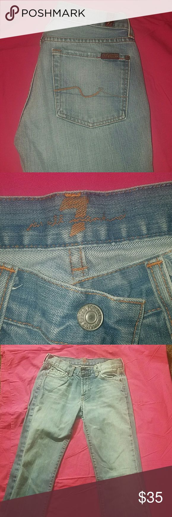 Jeans 7 for all mankind Women Jeans 7 For All Mankind Jeans Boot Cut