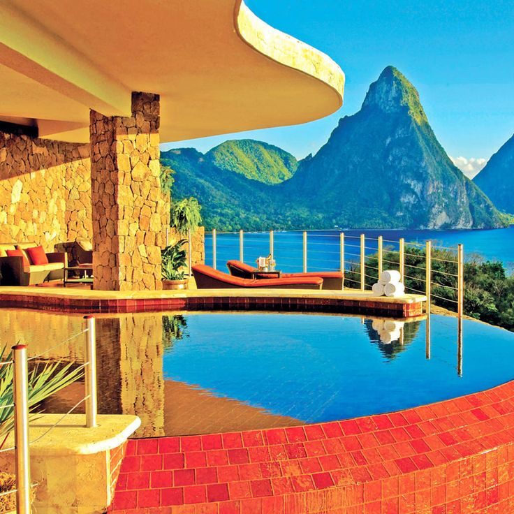 Best 25 jade mountain st lucia ideas on pinterest st for Best honeymoon spots in the caribbean