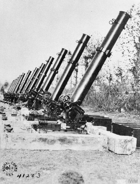 WW1. Italian Mortars Bombarda da 400 mm.