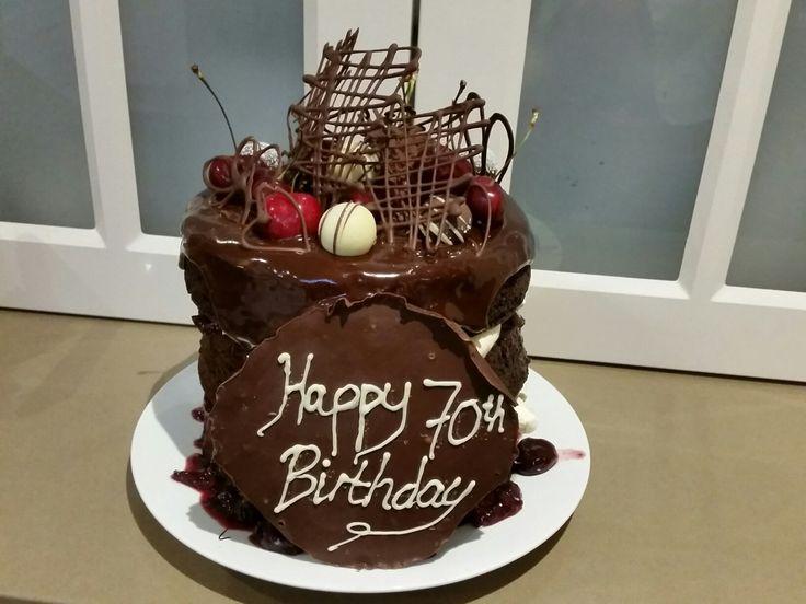 Blackforest chocolate layered cake