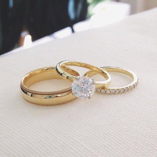 2214 best Wedding Rings images on Pinterest Diamond rings