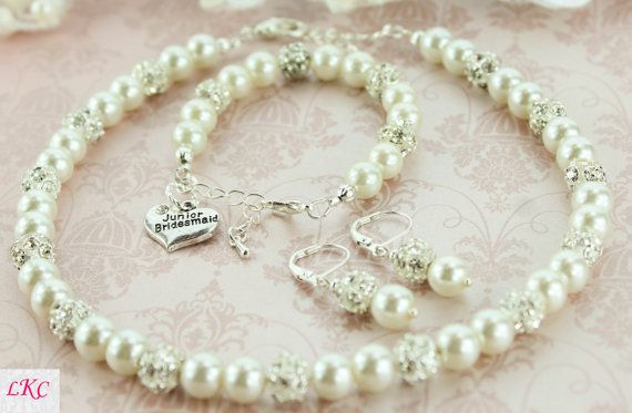 Junior Bridesmaid Gift Junior Bridesmaid Bracelet Flower Girl Jewelry Mini Bride Gift Dama De Honor Junior First Communion Jewelry Flower
