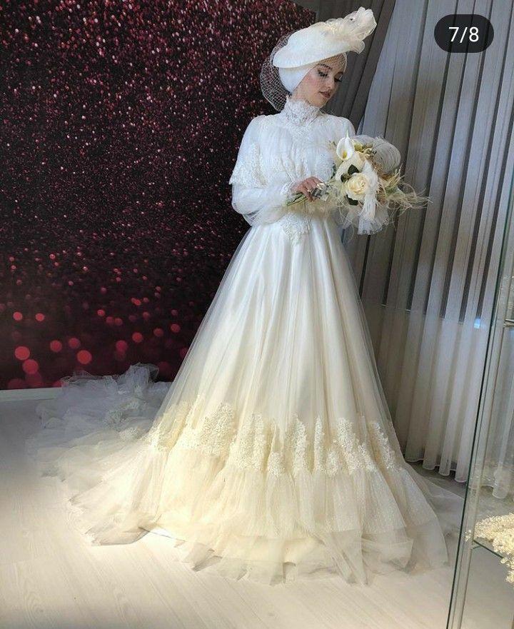 Tesettur Gelinlik Modelleri 2020 Gelin Elbisesi Vintage Gelinlikler Gelinlik Stilleri