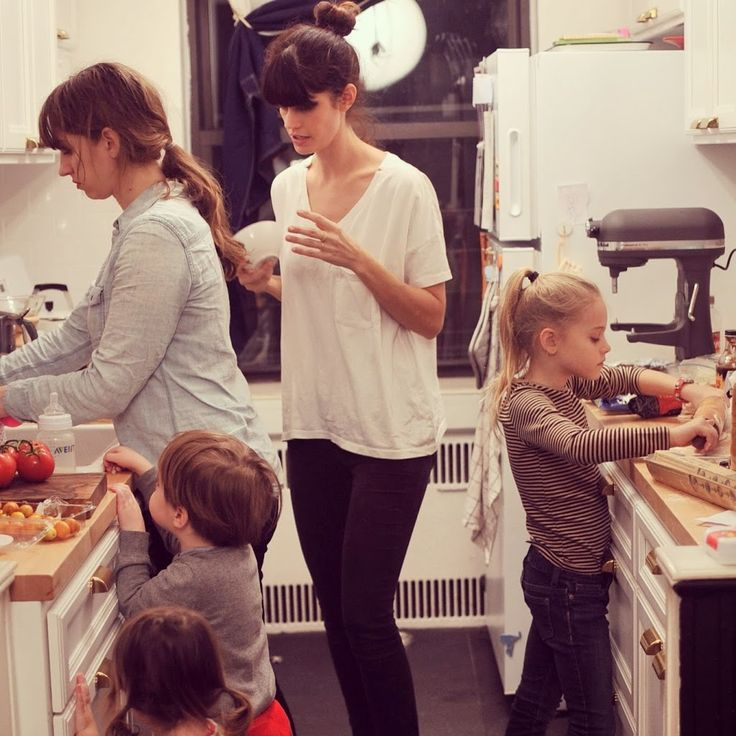 Mama/Kid Sleepover!   This is a neat alternative to sending your kids to someone else's house for a sleepover, especially a house with parents you don't know.