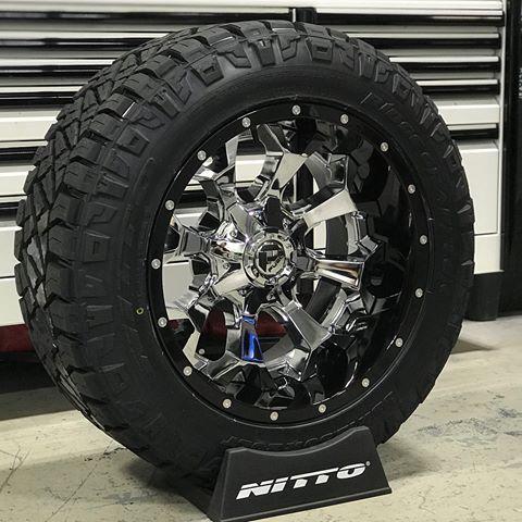 20x12 Fuel Assault 2 Piece With 33x12 50x20 Nitto Ridge