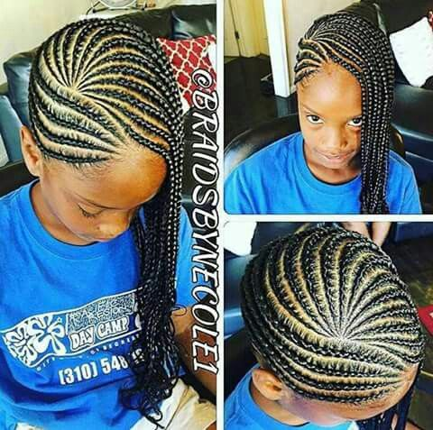 Pretty Hairstyles For N American : Best 25 kids braided hairstyles ideas only on pinterest kid