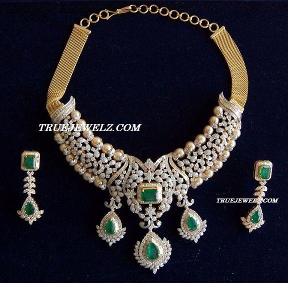True Jewelz: Pretty Designer Diamond Bridal Jewellery
