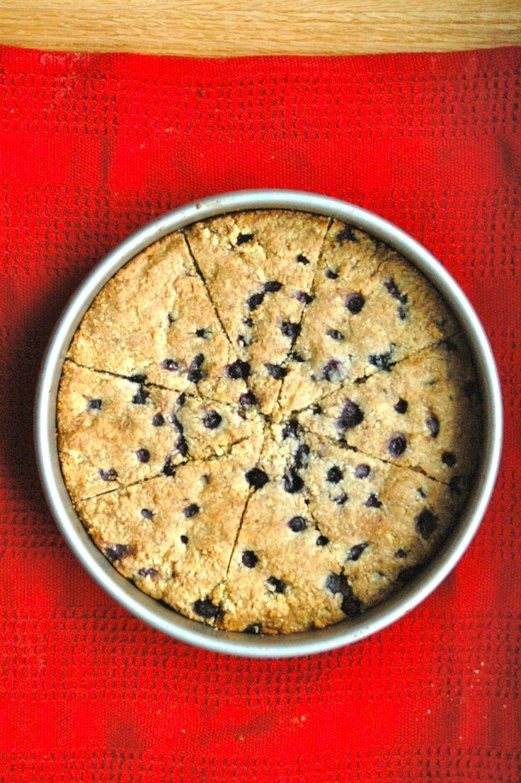 Paleo Blueberry Scones #scones #healthy #paleo #greatist
