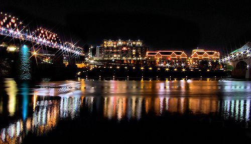 Downtown Chattanooga   Grand Illumination on the Tennessee River, Downtown Chattanooga, TN
