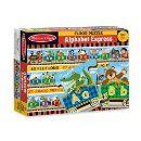 Amazon.com: Melissa & Doug Alphabet Express Floor Puzzle: Melissa & Doug, 27pc 4420 : Toys & Games