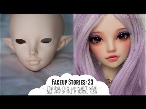 Sculpting a Female Fairy - Sneak Peek - Aprylian - www.MakingFairies.com - YouTube