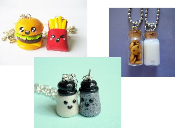 I know we already have a lot of BFF stuff, and we already have bff necklaces... but aren't these just SOOOO CUTE!!! <3 I would want one of them for you and me. What one do you like the most KK??? or anyone ells reading this. :D comment below. <3