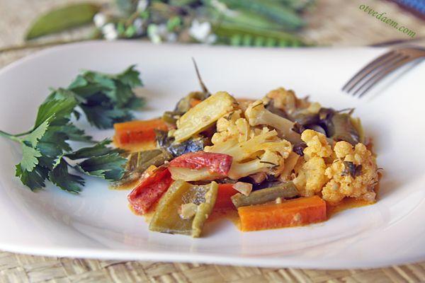 karrizvetkap Овощное карри со спаржевой фасолью