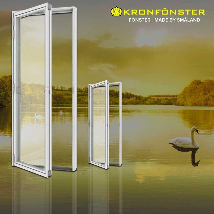 Fönsterdörrar från Kronfönster - Made by Småland  Kronan: Fönsterdörr utåtgående 3 glas trä/ aluminiumdörr helglasad uvärde 0,9  #fönsterdörrar #Dörrar #aluminiumdörr #Kronan #parfönsterdörr #fönsterdörr #pardörrar #Pardörr #Glasdörrar #Dörr #Kronfönster #Kronan  https://goo.gl/2Gk1b7