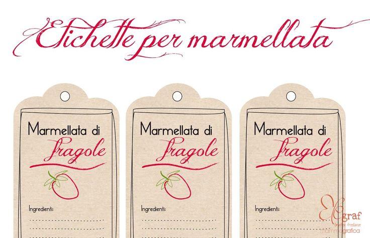 Risultati immagini per etichette per barattoli di marmellata