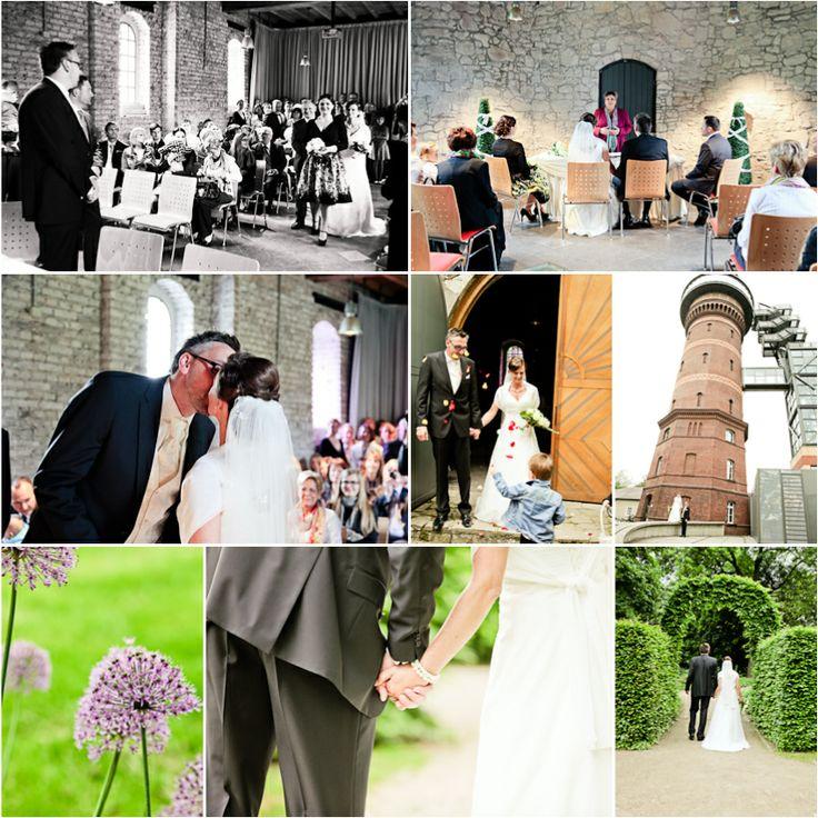 Tolle Hochzeitslocation in Muelheim an der Ruhr. Standesamtlich heiraten in der Schlosskapelle! Toller Park! www.hochzeitsfotografie-duisburg.de