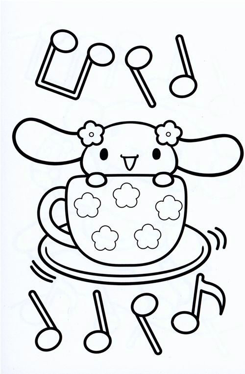 japanese hello kitty coloring pages - photo#11