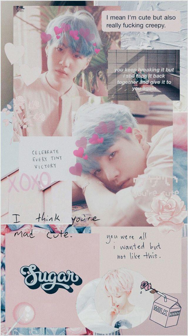 Cute Min Yoongi Wallpaper Iphone