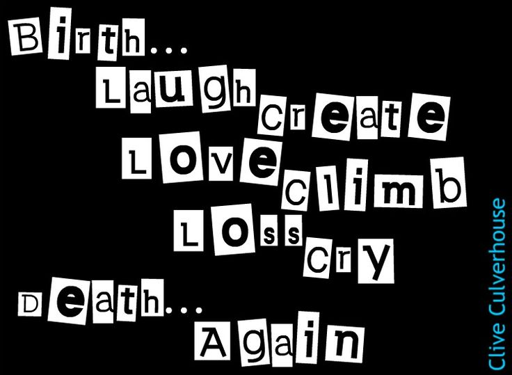 life death rebirth - poetry micropetry