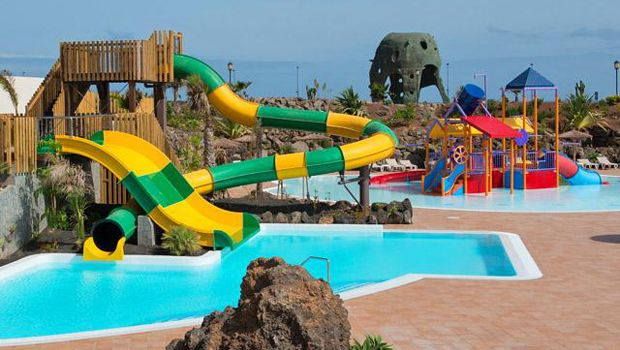Hotel Con Parque Acuático En Fuerteventura Parque Acuatico Hoteles Para Niños Toboganes