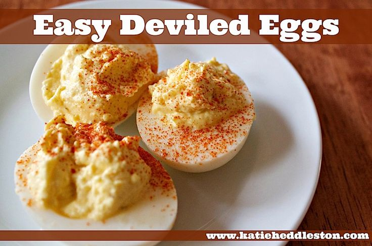 Deviled Eggs: Looking for an easy party appetizer? Made with Greek ...