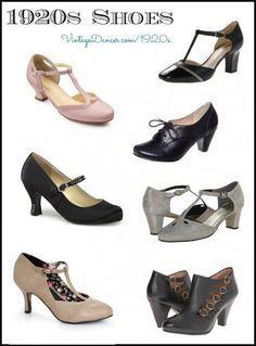 Neue Downton Abbey Schuhe im Vintage-Stil