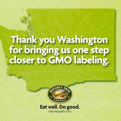 Thank you Washington for bringing us one step closer to GMO labeling! More here: https://www.facebook.com/GmoInside: Gmo Warriors, Gmo Labels, Gmo S You