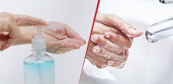 For Once And All Let S End The Hand Sanitizer V S Soap Water