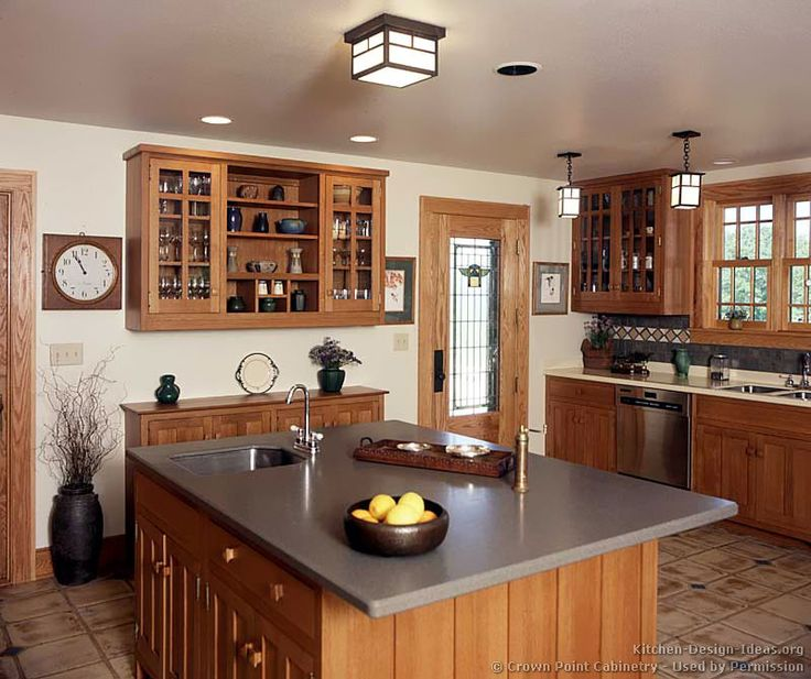 1000 Images About Craftsman Style Kitchens On Pinterest Medium Kitchen Craftsman And Cabinets