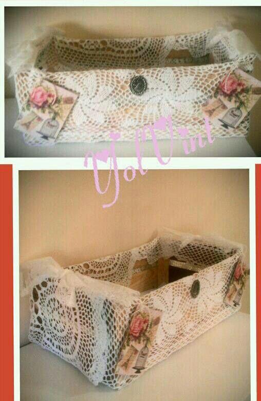 cajas de frutas con crochet