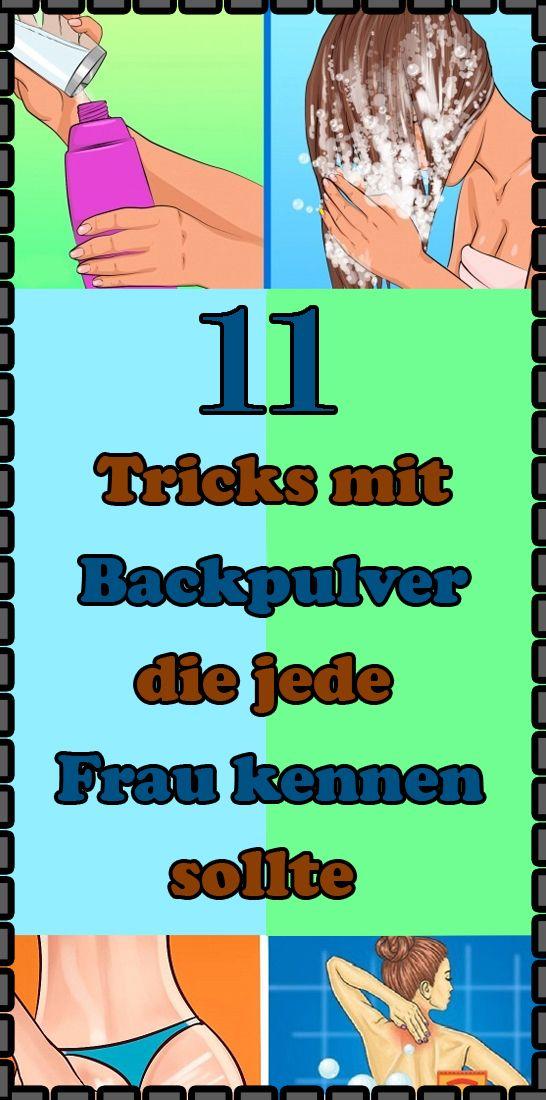 11 Tricks mit Backpulver, die jede Frau kennen sollte