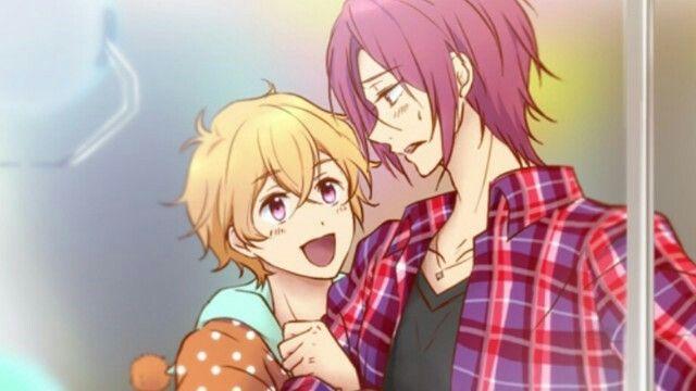 Nagisa and Rin, Free! Iwatobi Swim Club