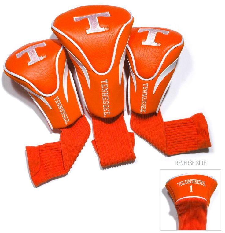 Tennessee Volunteers Golf Club 3 Piece Contour Headcover Set