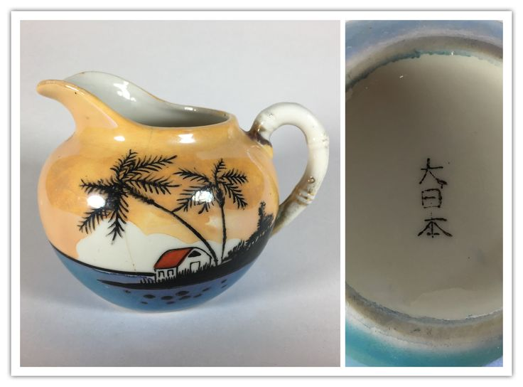 Japanese Dai Nippon luster ware from 1930-1940.