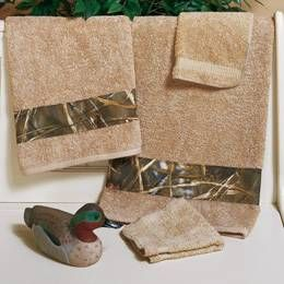 real tree max 4 camo hand towel by real tree bedding the home decorating company - The Home Decorating Company