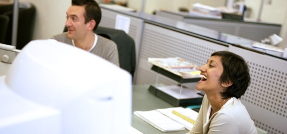 How to be happy at work in a few easy steps. professional-interest