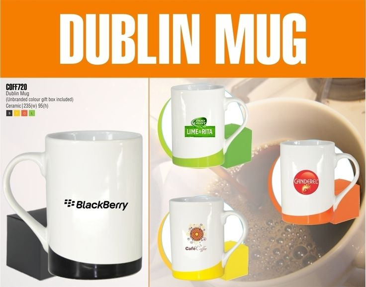 Coffee Mugs. Best Branding offers: Full Colour Printing, Pad Printing, Silkscreen Printing, Laser Engraving, Dome, Foiling, Debossing, Sublimation Print and Heat Transfer