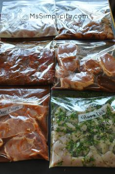 I DID IT: Easy Summer Freezer Meals to go on the grill