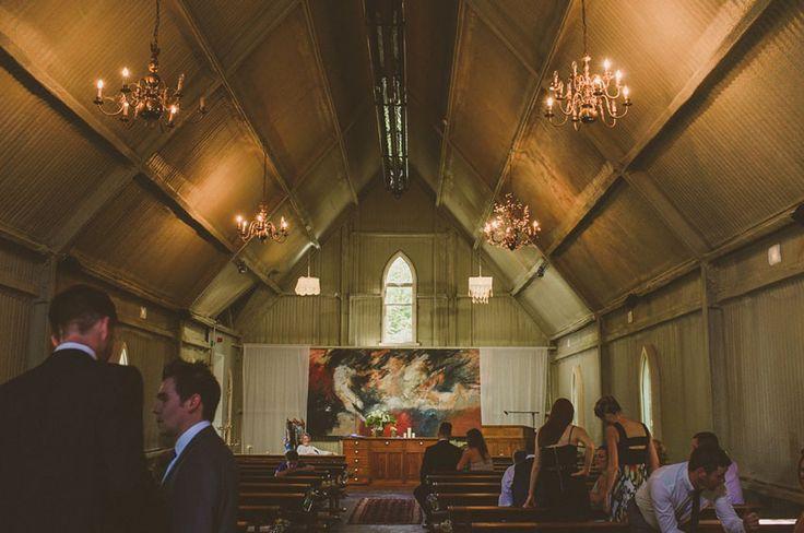 Wedding tin style chapel at  Mount Druid