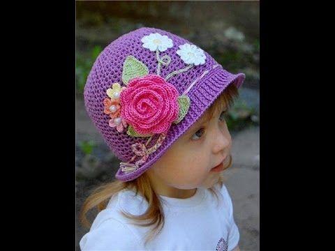 Chapéu de crochê | verão | Professora Simone - YouTube