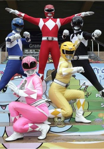 I've always wanted to go to a Halloween party with my friends as the Power Rangers. I want to dress up as either the blue or the black ranger.